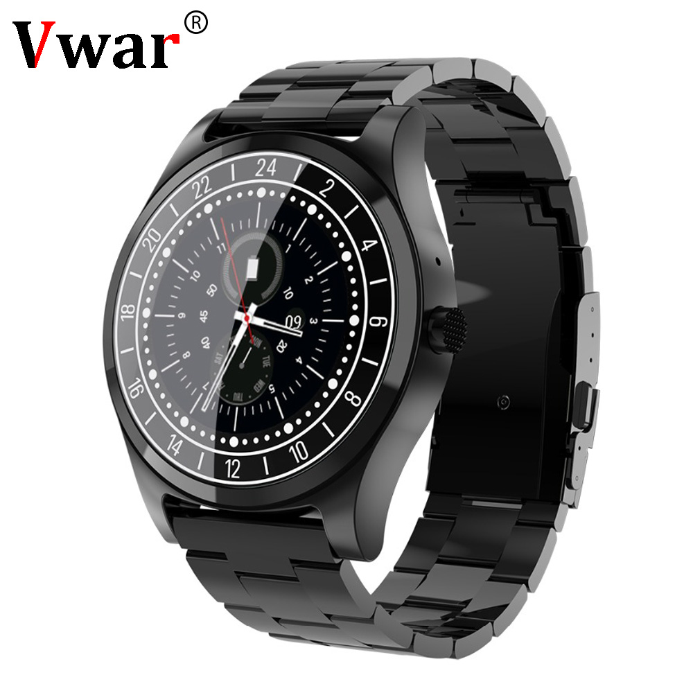 Vwar DT99 Bluetooth Smart Watch Mens Wristwatch Dial Call Heart Rate Monitor Blood pressure Fitness tracker