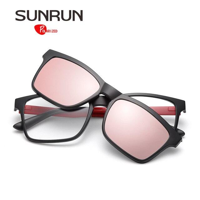 Tr90 Gafas Los Polarizadas Imán Sunrun Mujeres De Sol Hombres F5TK1Jclu3