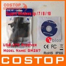 Envío Libre PC usb Receptor GPS Módulo de Antena de Navegación GlobalSat BU-353s4 Reemplazar VK-162 GMOUSE 0183 NMEA de Salida USB