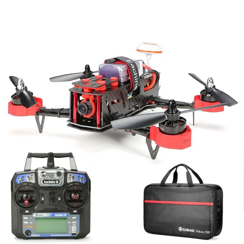 ФОТО new high quality eachine falcon 250 fpv quadcopter with flysky i6 2.4g remote control 5.8g hd camera rtf