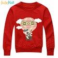 Jiuhehall al por menor camisas y sudaderas para niños oso globo de aire caliente suéter para niños de impresión de dibujos animados boy girl clothing hcm115