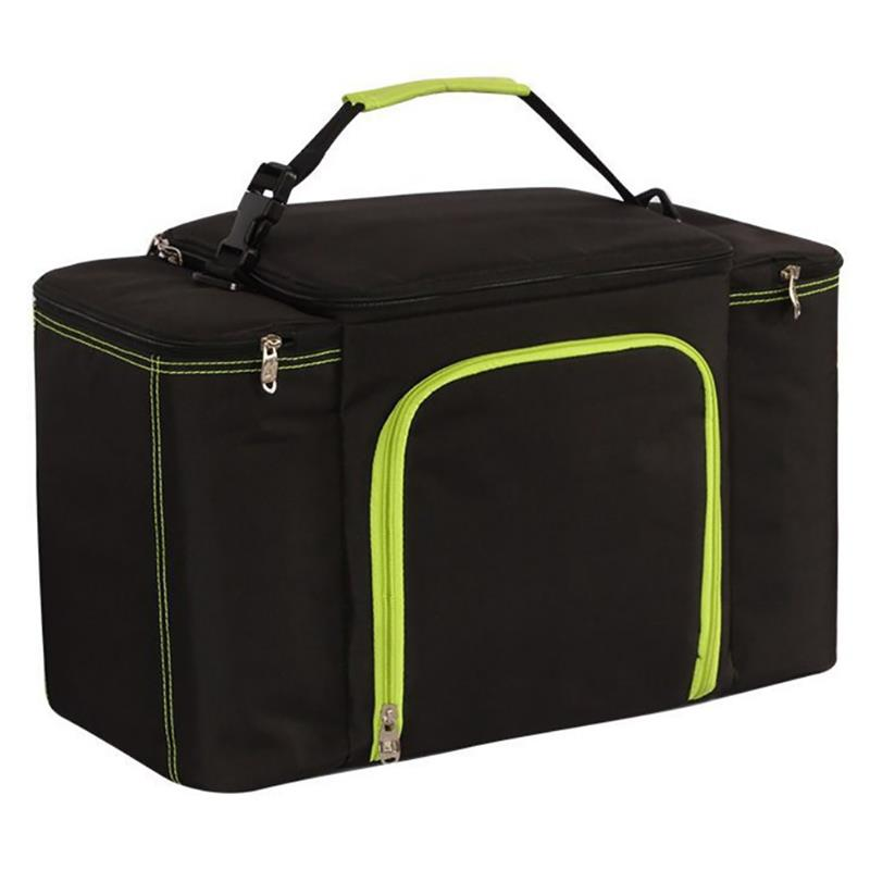 Picnic Cooler Lunch Bags Thermal Aluminum Foil Large Ice Pack Box Bag Insulated Car Beach Barbecues Camping Lunch Bags