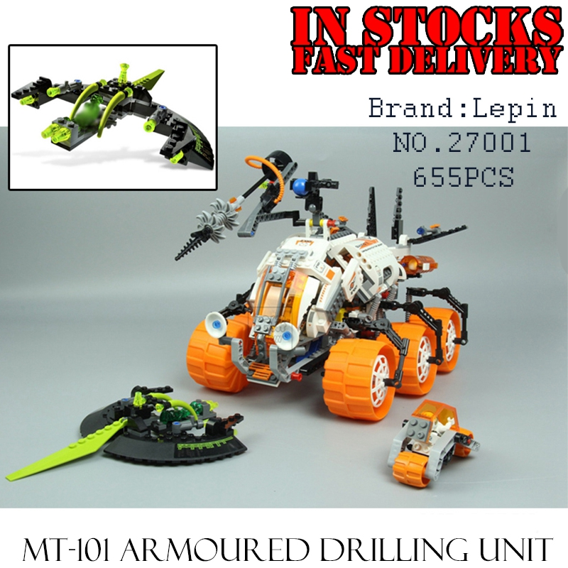 Lepin 27001 655Pcs Mar Mission Space Series The Mt-101 Amoured Drilling Set Educational Building Blocks Bricks Toys for children brett kustigian mission driven educational leadership does it matter