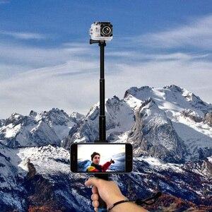 Image 5 - להארכה כף יד טלסקופי מקל חדרגל חצובה לgopro Hero 7 שחור 6 F60 EKEN H9R עבור iphone סמסונג