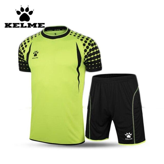 KELME Soccer Jerseys 2017 Short Sleeve Camisetas De Futbol Mens Customize Football Uniforms Sport Jersey Pants Soccer Kits 28
