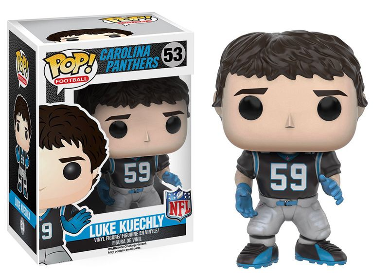 Funko pop Official NFL: Wave 3 - Luke Kuechly Vinyl Action Figure Collectible Model Toy with Original Box  official funko pop marvel x men logan wolverine vinyl action figure collectible model toy with original box