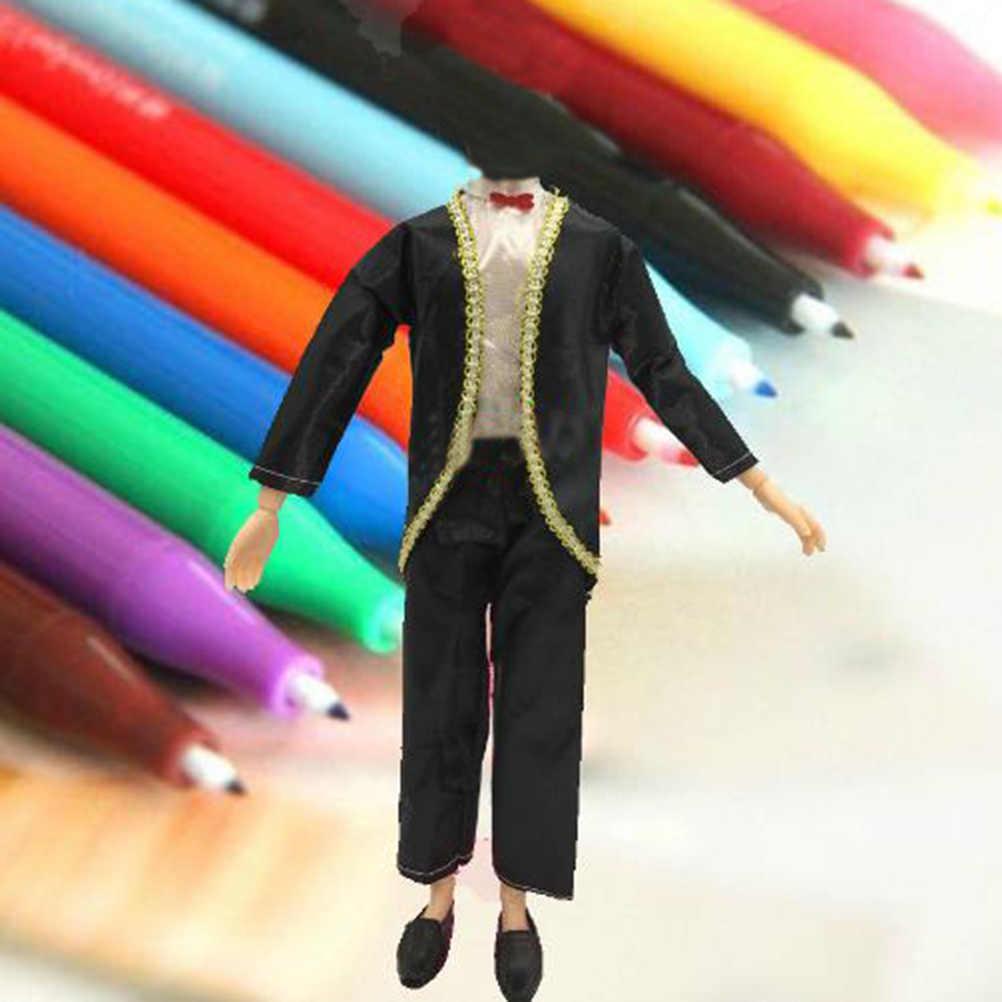 """1 комплект вечерние смокинг одежда, комплект со штанами для 11 """"парень Кэн куклы для детей подарок на день рождения"""