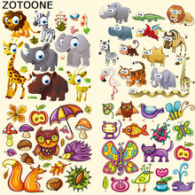ZOTOONE Patches Iron-on Transfers A-level Washable Heat Press Appliqued for Clothes T-shirt Dresses Bag DIY Decoration E