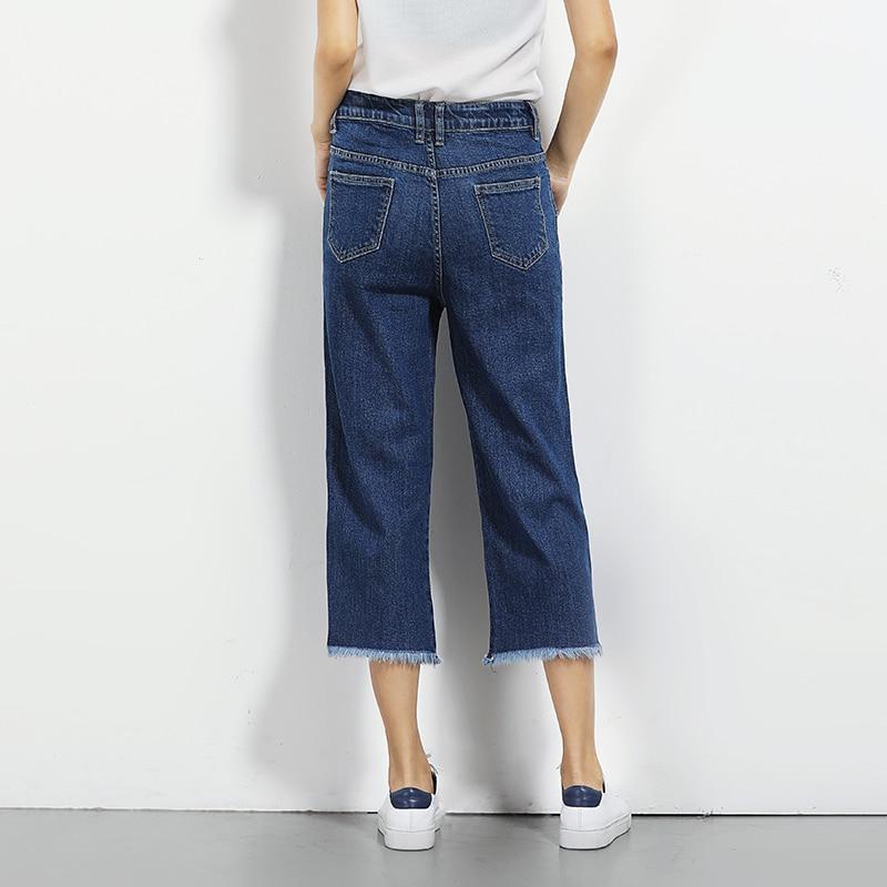 Aliexpress.com : Buy embroidery Jeans for women Wide Leg tassel ...