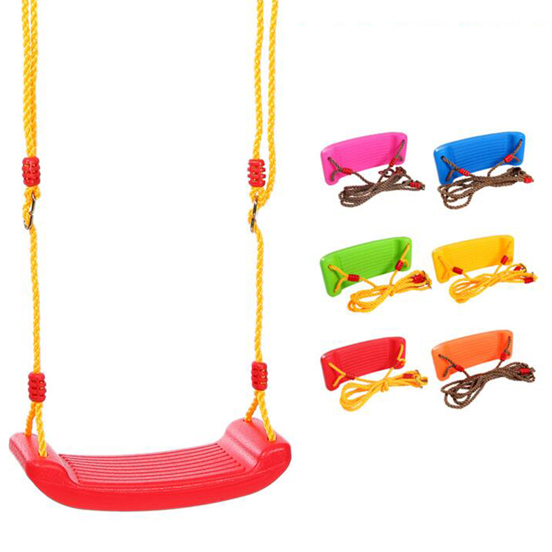 Indoor and outdoor children's swing swing baby safe Quanwan plate swing seat child chair