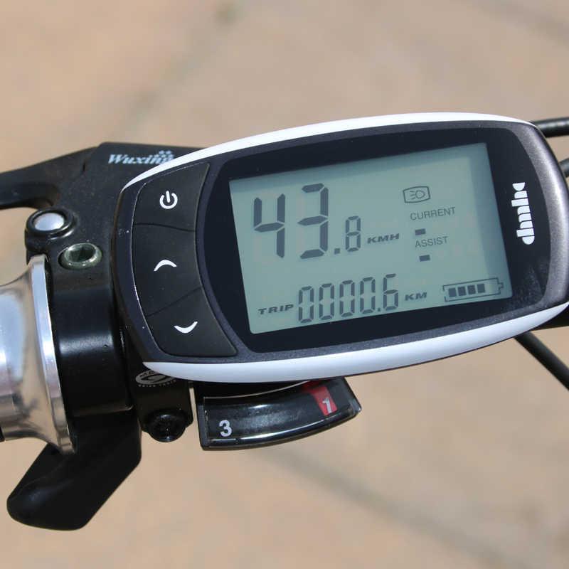 Wolf's fang Электрический велосипед 48 в 500 Вт Мотор 10/13Ah 27 скорость алюминиевый складной электровелосипед Встроенная литиевая аккумуляторная батарея электрический велосипед