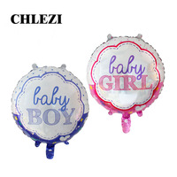 New Arrival 18 Inch Round Boy Girl Birthday Foil Helium Baby Banquet Children S 1 St