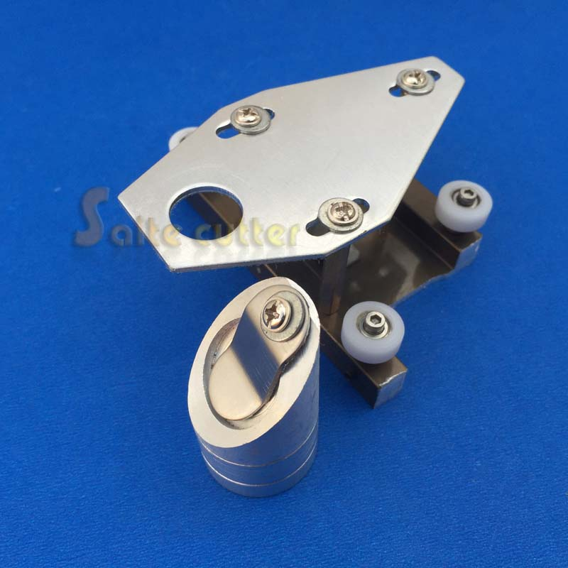 CO2 K40 Stamp Engraver Laser Head Focal 50.8 Focus Lens 18mm Reflective Mirror 20mm Integrative Mount  Engraving Cutting Machine