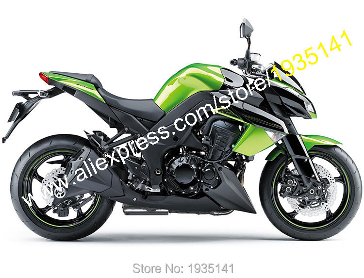 Hot Sales,For Kawasaki Z1000 2010 2011 2012 2013 Z 1000 10-13 Green Black Bodyworks Motorcycle Fairing Kit (Injection molding) hot sales for kawasaki fairing zx 6r ninja 2009 2010 2011 2012 zx6r 09 10 11 12 green black cowling zx6 636 injection molding