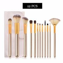 цена на 12/18/24Pcs Women Makeup Brushes Tool Set Cosmetic Powder Eye Shadow Foundation Blush Blending Beauty Make Up Brush Maquiagem