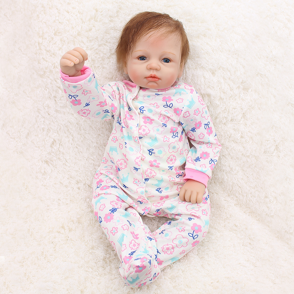Otarddolls 22inch Reborn baby dolls 55cm silicon reborn doll babies Cute girl bonecas reborn menino for Children Birthday gift