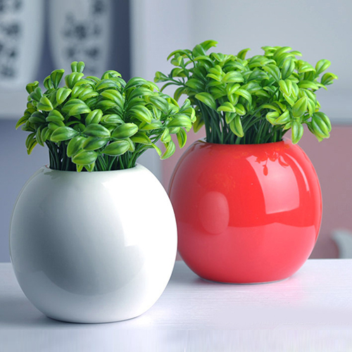 10pcs Bean Sprout Artificial Fake Plant Plastic Potted Home Office Table Desk Decor 6qd8 In Decorations From Garden On Aliexpress Alibaba Group