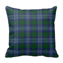 Ugly Traditional Sutherland Tartan Plaid Pillow Case (Size: 20″ by 20″) Free Shipping