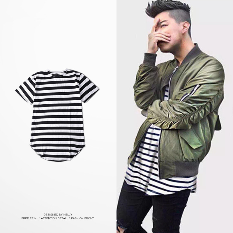 Compare Prices on Oversized Striped Shirt- Online Shopping/Buy Low ...