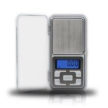 Mini Digital Pocket Scale Electrionic LCD Precision Balance Jewelry Scale Diamond Measure Machine Kitchen Food Diet