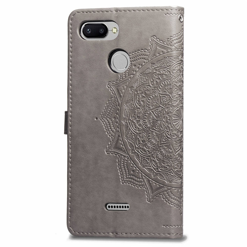 Mandala Engraving Flip Case for Xiaomi Redmi 3