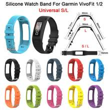 Komfortable Silikon Ersatz Uhr Band Handgelenk Gurt Für Garmin VivoFit 1/2 Generation Universal Kleine Größe Ergonomisches Design