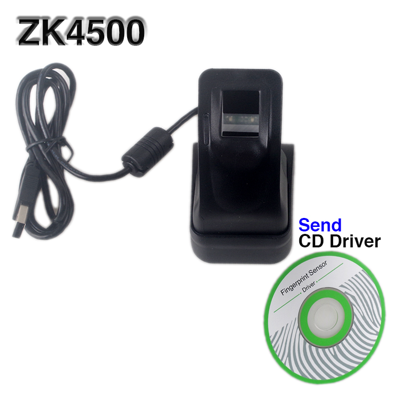 Stable and Excellent Fingerprint Scanner Capture Fingerprint Image 500 dpi High Speed USB Interface zk4500 free SDK цены