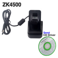 Stable and Excellent Fingerprint Scanner Capture Fingerprint Image 500 dpi High Speed USB Interface zk4500 free SDK(China)