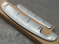 Hot sale For Tiguan 2013 2014 2015 stainless steel Front & Rear Bumper Protector Guard Skid Plate cover trim TG7
