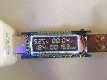 Mobile текущий доктор амперметр напряжение вольтметр зарядки power детектор зарядное устройство