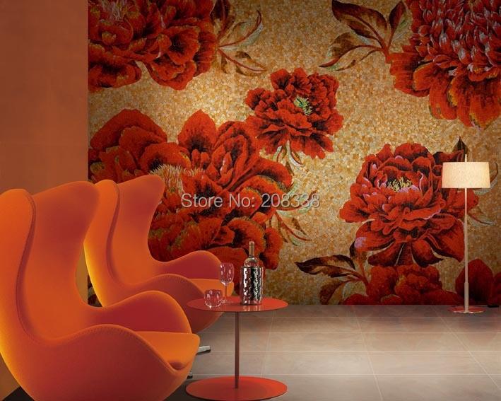 sale timelimited pastilhas de vidro para banheio bathroom tiles floor magnificent floral glass
