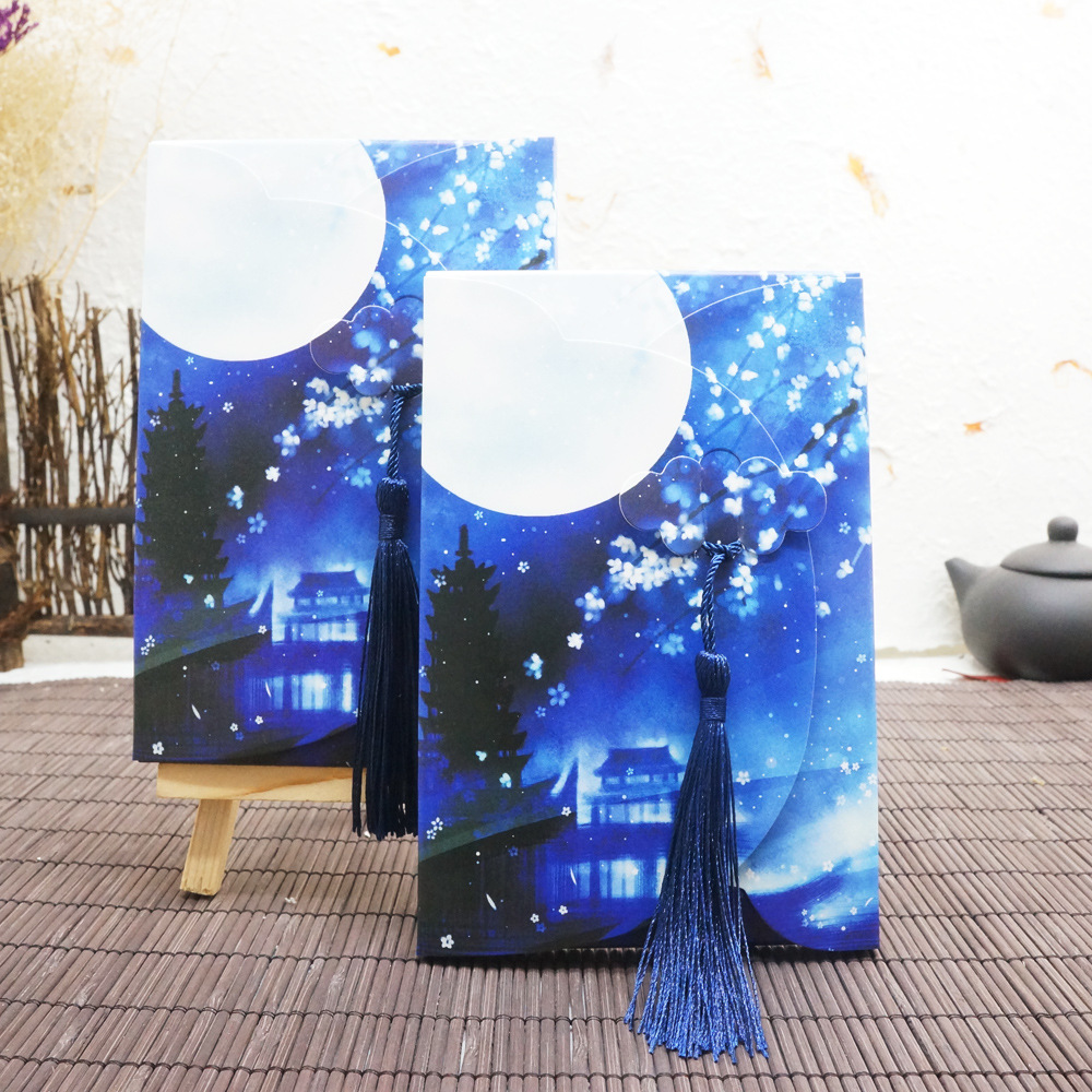 12 Sheets/Set Twelve Constellations Postcard With Small Tassel/Greeting Card/Message Card/Birthday  Gift Card