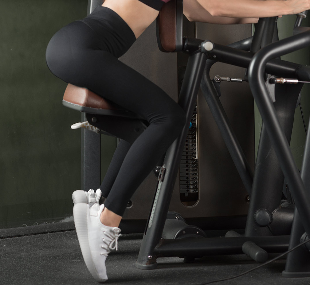 Nuevas mallas moldeadoras transpirables para correr mallas deportivas de deporte para mujer Pantalones de cintura alta para mujer-in Fundas de ropa from Hogar y Mascotas    2