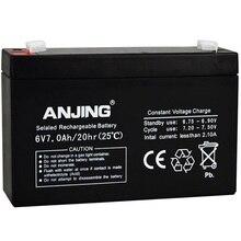 Закрытый ящик для хранения Батарея для Для детей автомобильный Настольный светильник на открытом воздухе Динамик игрушки UPS свинцово-кислотный аккумулятор Перезаряжаемые 6V 7AH 6V7AH