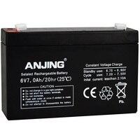 Sealed Storage Battery for Children Kids Car Desk Light Outdoor Speaker Toys UPS Lead acid Accumulator Rechargeable 6V 7AH 6V7AH