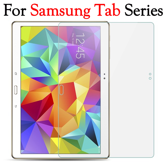 Tempered Glass For Samsung Galaxy Tab 2 P3100 3 P5200 A T550 T380 T355 P585 E T375 T560 S2 T715 S T805 Tablet Screen Protectors