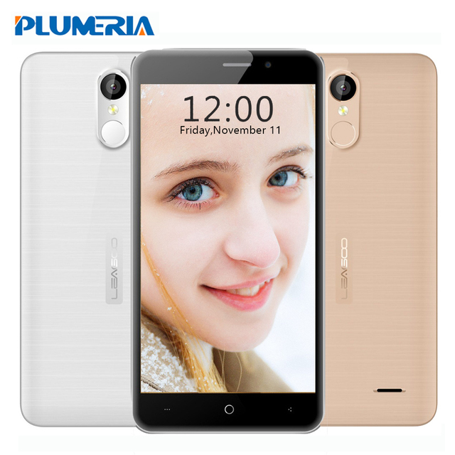 "New Original Leagoo M5 Plus Cell phone 5.5"" MT6737 Quad Core 2GB RAM 16GB ROM 13MP Fingerprint 4G LTE HD Android 6.0 Smartphone"