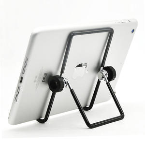 Foldable Metal Tablet Stand Adjustable Big Phone Tablet Desktop Holder Mount Cooing