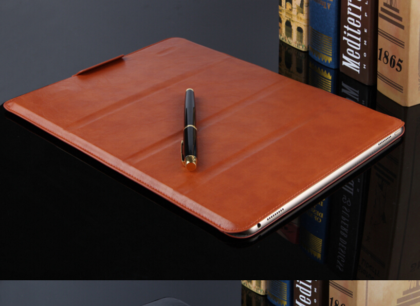 SD New ultra-thin Sleeve Case For iPad Pro 12.9'' Pu Leather Case Bag Protective Case for apple ipad pro 12.9 inch Tablet Cover sldpj stylish ultra thin protective pu leather case cover w visual window for iphone 4 4s red