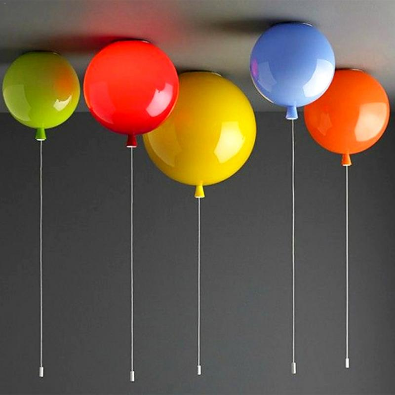 Colorful Balloon Ceiling Lamp Children Room Cute Ball Lampshade Light Living Room Pub Hotel Decoration LightingColorful Balloon Ceiling Lamp Children Room Cute Ball Lampshade Light Living Room Pub Hotel Decoration Lighting