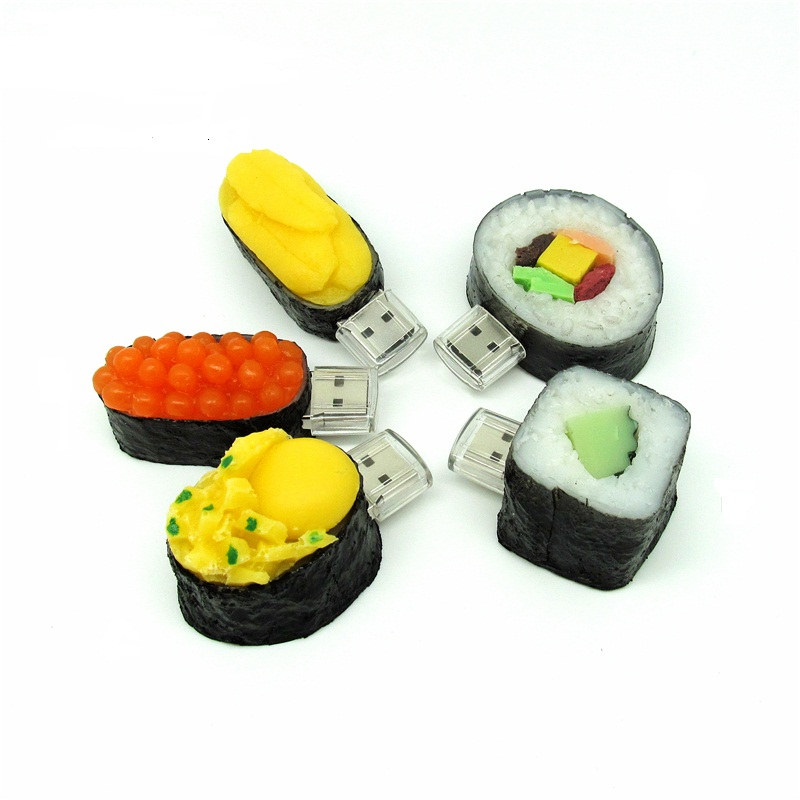 todo tipo de comida japonesa sushi unidad flash usb modelo usb pen drive gg