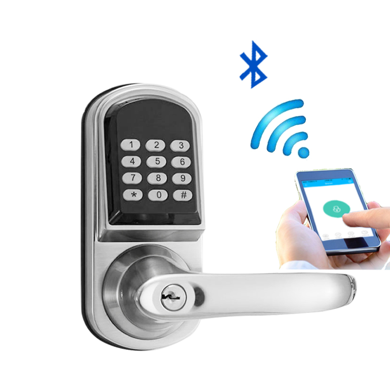L S Electronic Door Lock Code Keypad Password Bluetooth
