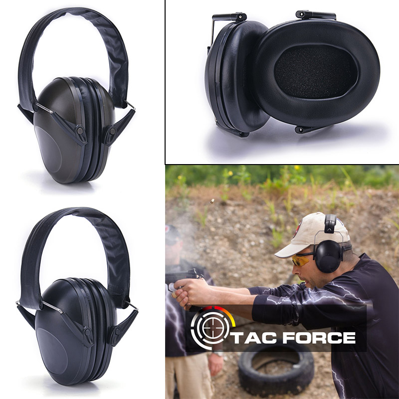 New Headband Headphone Headset Noise Reduction Earmuff Hearing Protection for Shooting Hunting eals @JH