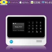 Golden Security G90B Plus WiFi GPRS 2G GSM Autodial Security Alarm/Personalise Alarm System APP Control PIR Detector Door Sensor