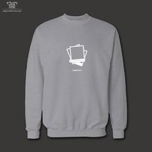 メメント映画クリエイティブ デザイン男性ユニ セックス 360gsm 10.3 オンス プルオーバー sweatershirts 82%有機綿フリース の内側送料無料
