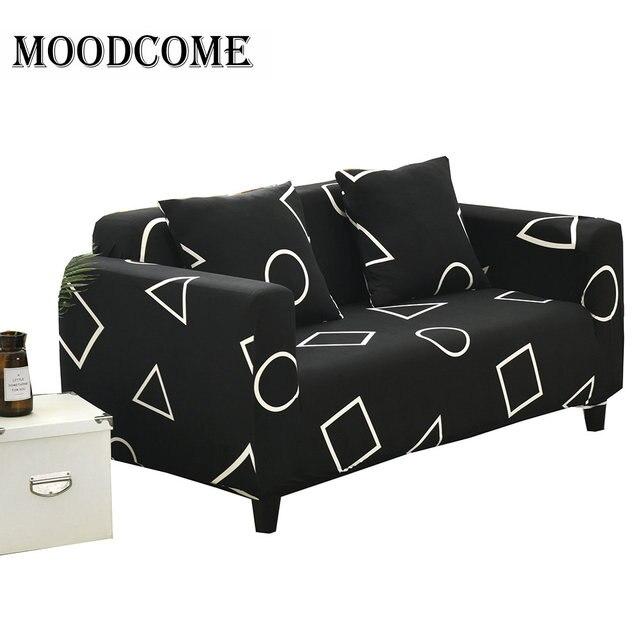 Sofa Cover Black Hot Round Square