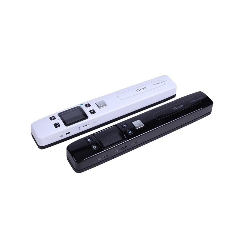 High Speed Tragbare Scanner A4 Größe Dokument Scanner 1050DPI JPG/PDF Unterstützung 32G TF Karte Mini Scanner stift mit Pre Ansicht Bild - 3