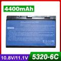 4400mAh battery For Acer  TravelMate 5710 5720 5720G 5730 5730G  6592 6592G  7220 7220G  7320  7520  7520G  7720  7720G