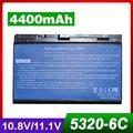 4400mAh battery For Acer  TravelMate 5710 5720 5720G 5730 5730G  6592 6592G  7220 7220G  7320  7520  7520G  7720  7720G