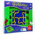Candice guo jogo de puzzle brinquedo de plástico dos desenhos animados presente de aniversário do bebê ir getter cat and mouse inteligência praça movimento placa lógica conjunto